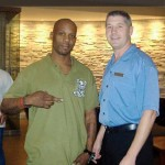 Actor/Rapper DMX at the hotel