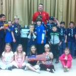 Boy Scouts and siblings